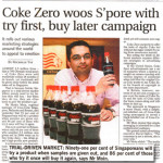 Trial Driven Marketing – Coke Zero