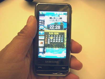 Samsung Omnia – New iPhone 3G Killer?