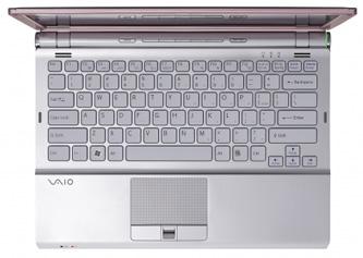 Sony VAIO SR Pink