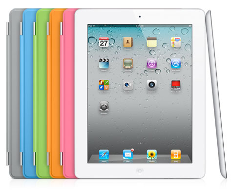 White iPad 2 and Smart Covers
