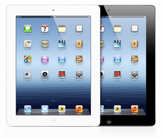 The new iPad popularly known as iPad 3