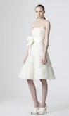 Short Wedding Dress by Vera Wang