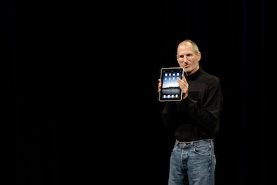 iPad launched by Steve Job