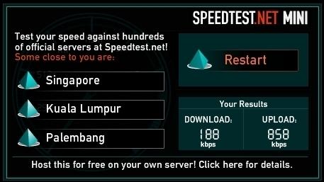 Speed Testing Qala Data Centre - Flexihostings