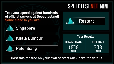 Speedtest Houston Data Centre