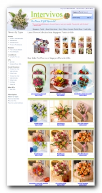 Flower shop intervivos