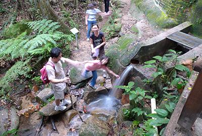 Natural mountain spring water in Singapore