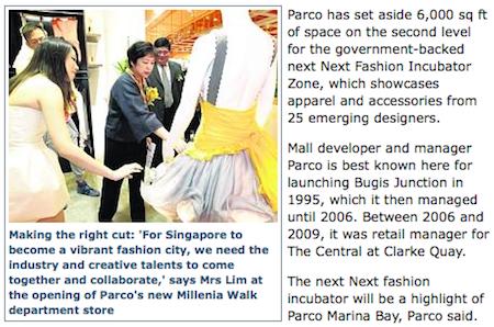 Next Fashion Incubator Zone