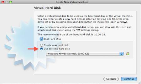 VirtualBox Manager - Virtual Hard Disk