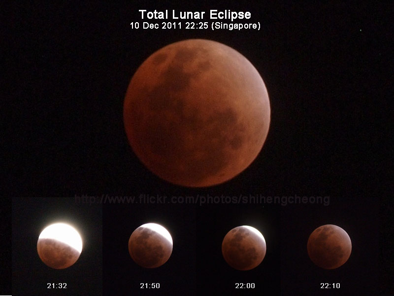 Lunar Eclipse Singapore