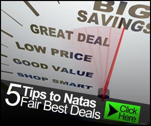 Top 5 Tips to Great Natas Fair Deals