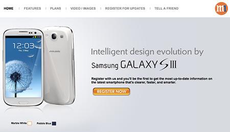 Galaxy S3 Pre-order at M1